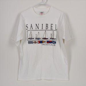 Vintage Sanibel Yacht Club T Shirt